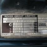 Honda Rover plocica